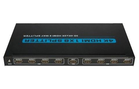 HDMI Splitter 1*8 4K*2K (из 1-HDMI в 8-HDMI 4K)