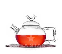 """Заварочный чайник стеклянный """"Стебель бамбука"""", 600 мл."""