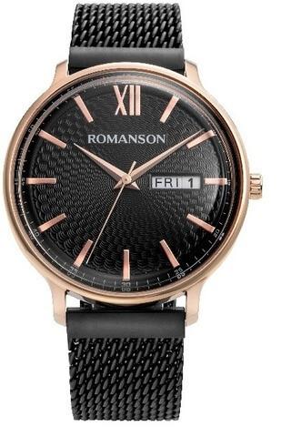 Купить Наручные часы Romanson TM 8A49M MR(BK) по доступной цене