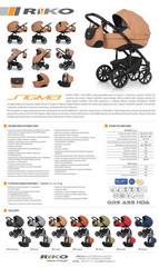 Модульная коляска 2 в 1  Riko SIGMA