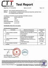 Сертификат соответствия качества товара