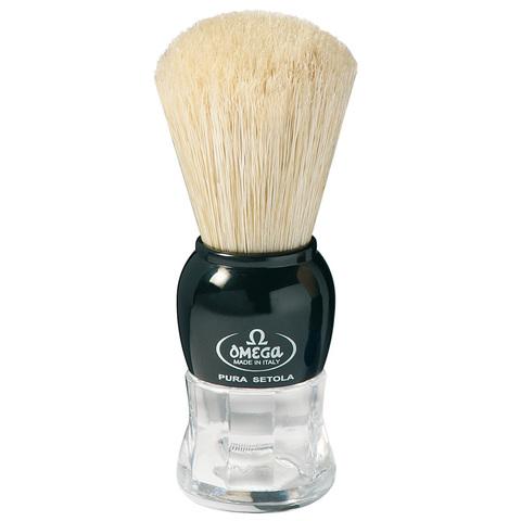 Помазок для бритья omega натуральный кабан 10072