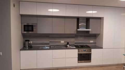 Кухонный гарнитур эмаль