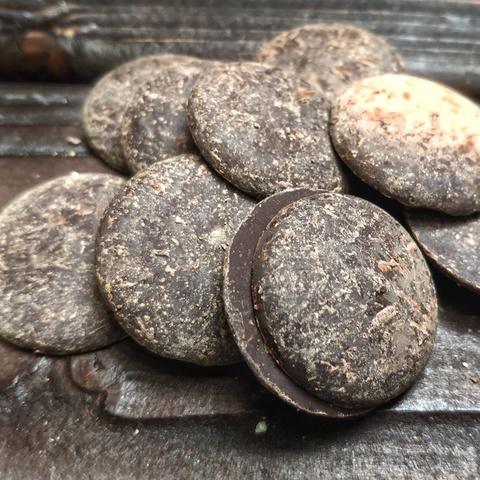 Фотография Какао-тертое (прессованная плитка, Испания), 200г купить в магазине Афлора
