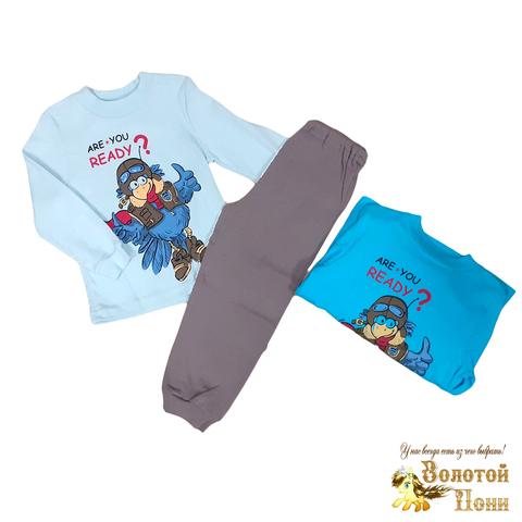 Пижама хлопок мальчику (3-9) 200614-OF140