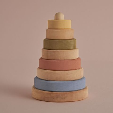 Пирамидка pastel+ natural