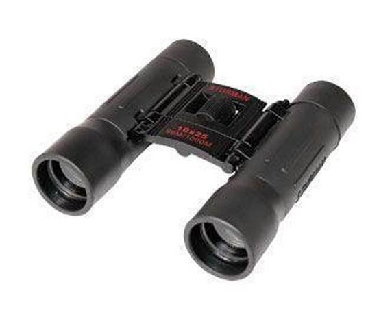 Бинокль Sturman 10x25 чёрный - фото 1
