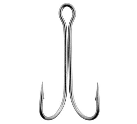 Крючки-двойники LUCKY JOHN Predator LJH121 №4, 8 шт