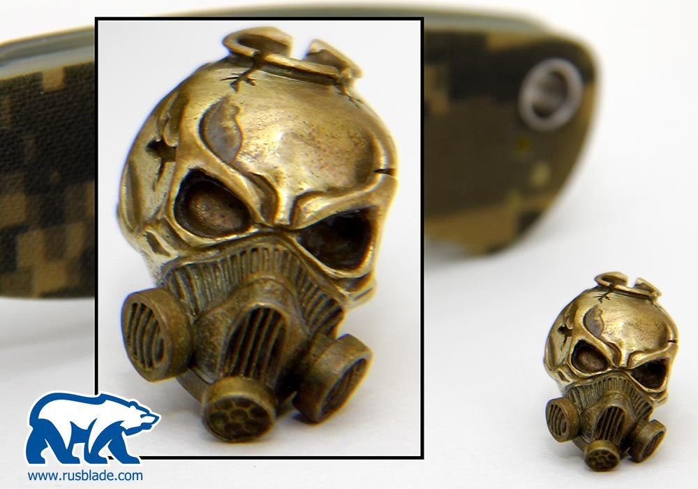 """Custom Sword Knot """"Stalkers skull"""" Limited Edition"""