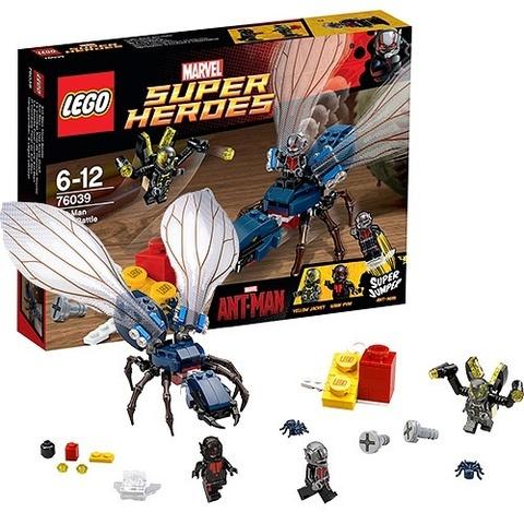 LEGO Super Heroes: Решающая битва Человека-муравья 76039 — Ant-Man Final Battle — Лего Супергерои Марвел