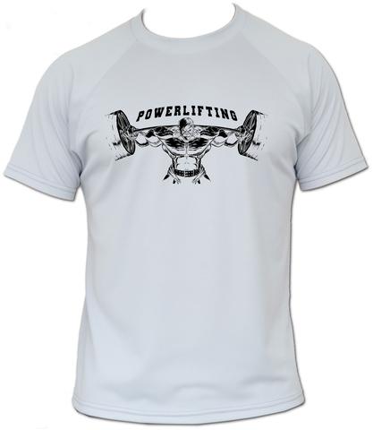 футболка пауэрлифтинг звериная сила
