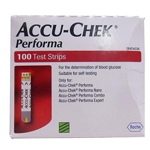 Тест-полоски для глюкометра Акку-Чек Перформа 100 штук (Accu-Chek Performa)
