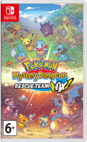 NS: Pokémon Mystery Dungeon: Rescue Team DX (английская версия)