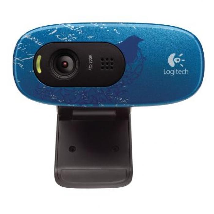 LOGITECH C270 HD Indigo