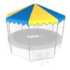 Крыша для батута Unix 10 ft (blue)