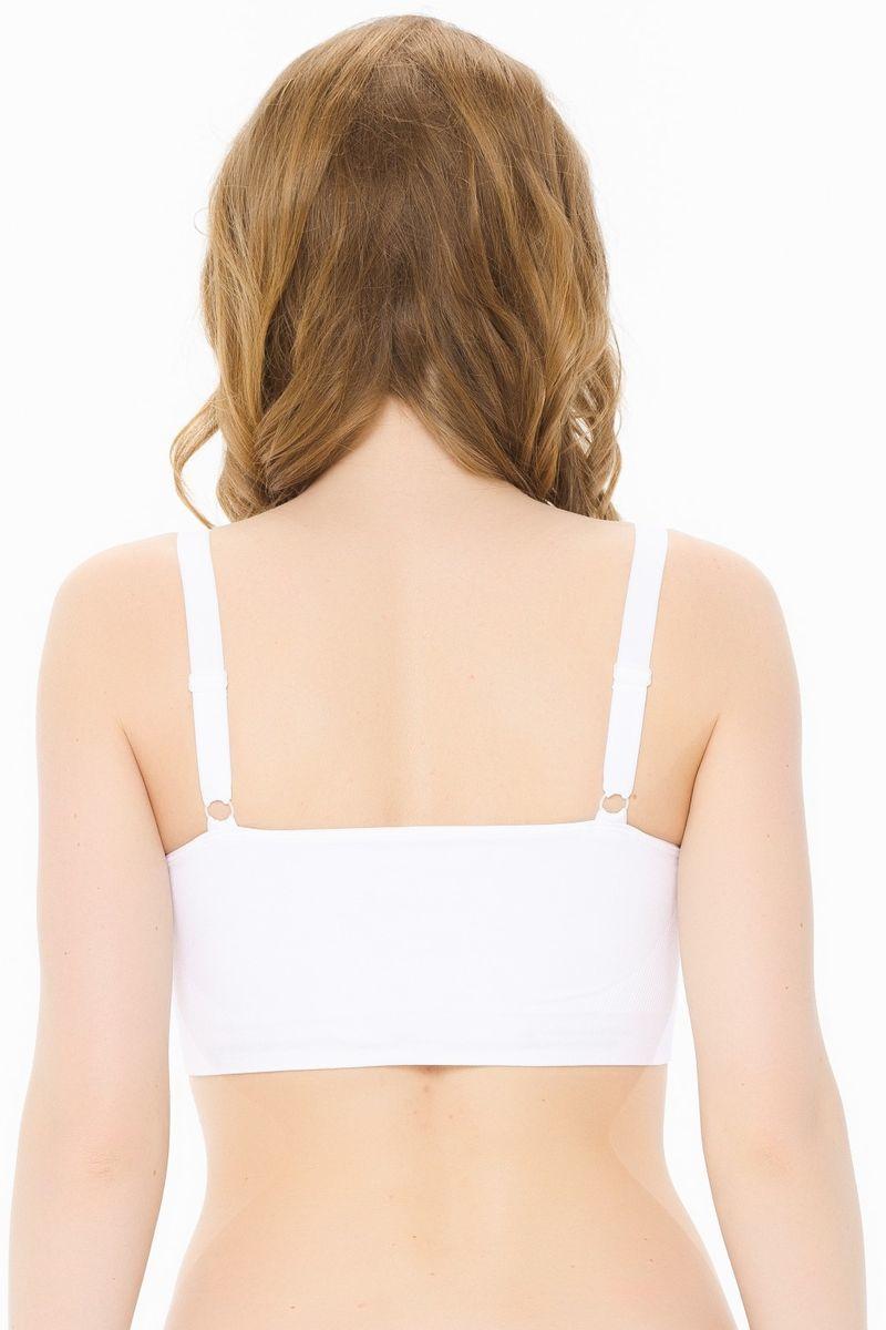 Фото топ Nuova Vita, белый, для беременных и кормящих мам. Характеристики, стоимость.