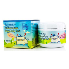 Farmstay Collagen Aqua Piggy Jelly Pack - Маска-желе со свиным коллагеном
