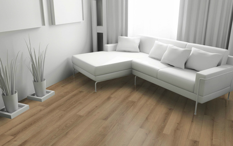 Wiparquet Authentic 8 Narrow (Naturale Brilliant) Дуб Слоновая Кость 31876