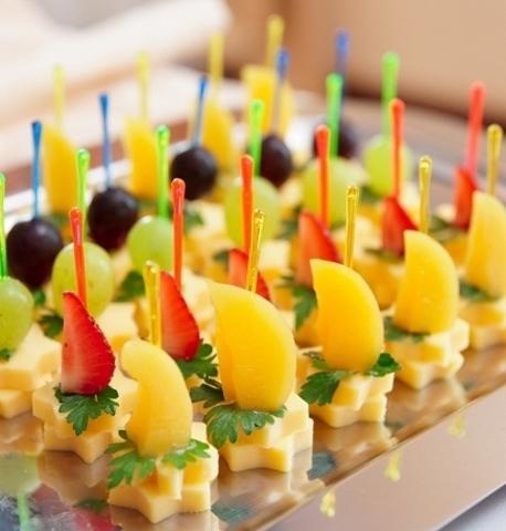 Вилочки для канапе и фруктов