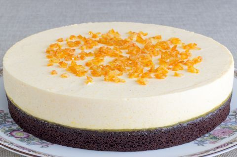 Муссовый торт без глютена, без сахара, без молока