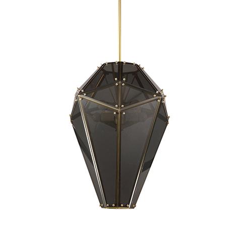 Потолочный светильник копия Empire by Lindsey Adelman (черный)