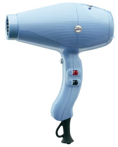 Фен Gamm Piu Aria с турмалиновым покрытием и ионизацией голубой