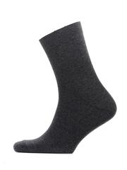 C01-1 носки мужские, темно-серые (10 шт)