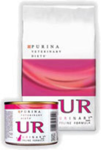 Purina ( Вет. Диета) Мусс для кошек при мочекаменной болезни (ur St/ox) 195 г