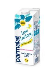 """Молоко """"Parmalat"""" ультрапастеризованное безлактозное 1,8% 1л"""