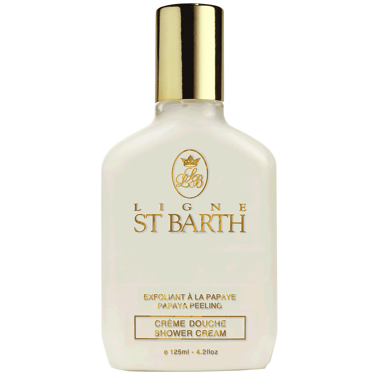 Крем-пилинг для душа St Barth Creme Douche Shower Cream Papaya Peeling 125мл