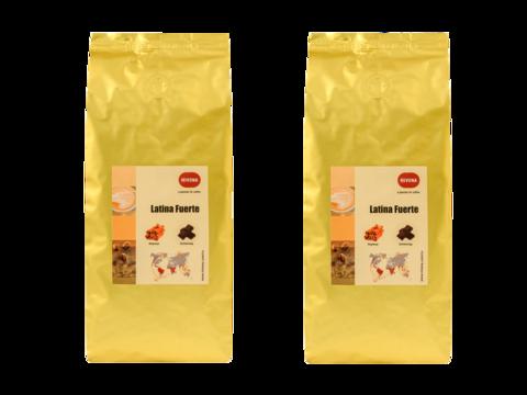 Кофе в зернах Nivona Latina Fuerte 2 штуки