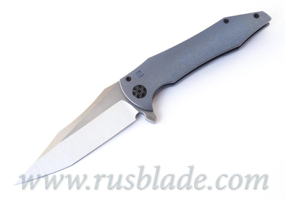 CKF/Gavko Tiger Flipper collab knife