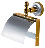 Держатель туалетной бумаги Migliore Mirella ML.MRL-M059 CRDO хром-золото