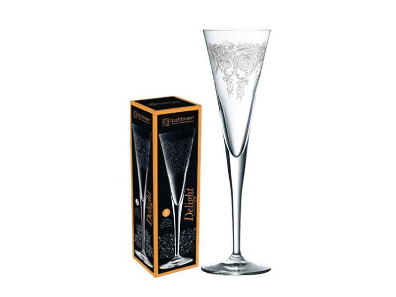 Фужер из хрусталя для шампанского Delight, 165 мл все цены