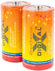 Батарейки X-Digital R14, C (12/240)