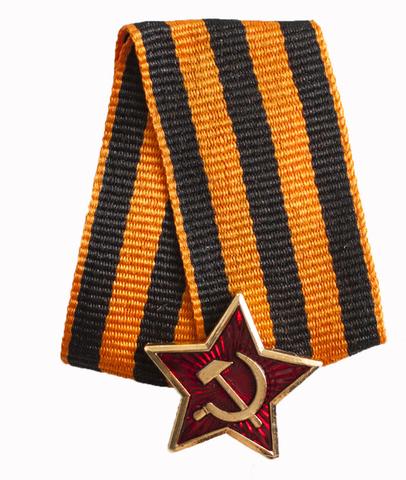 Брошь Медаль