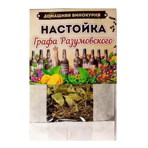 Набор для настаивания Домашняя винокурня Графа Разумовского, 50 г на 2 л