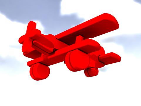 Самолет АН-2 пряник 3д