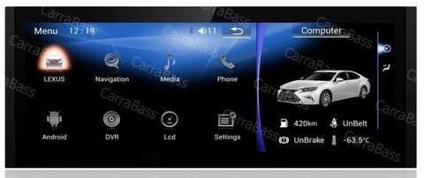 Штатная магнитола PF3806 для Lexus IS 2013-2018 экран 10.25