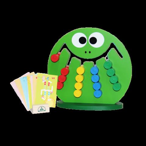 Детские игры логические - Лягушка