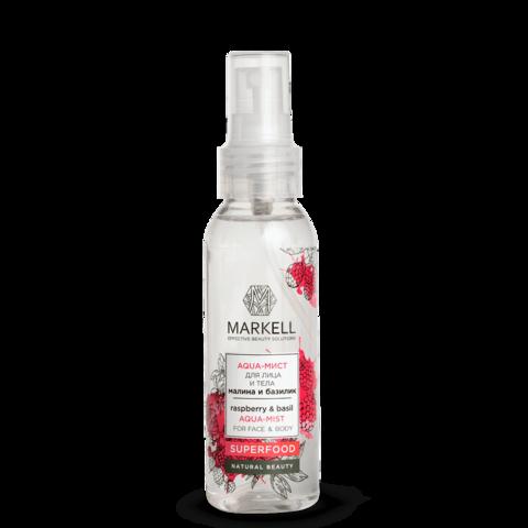 Markell Superfood Aqua-мист для лица и тела Малина и Базилик 100мл