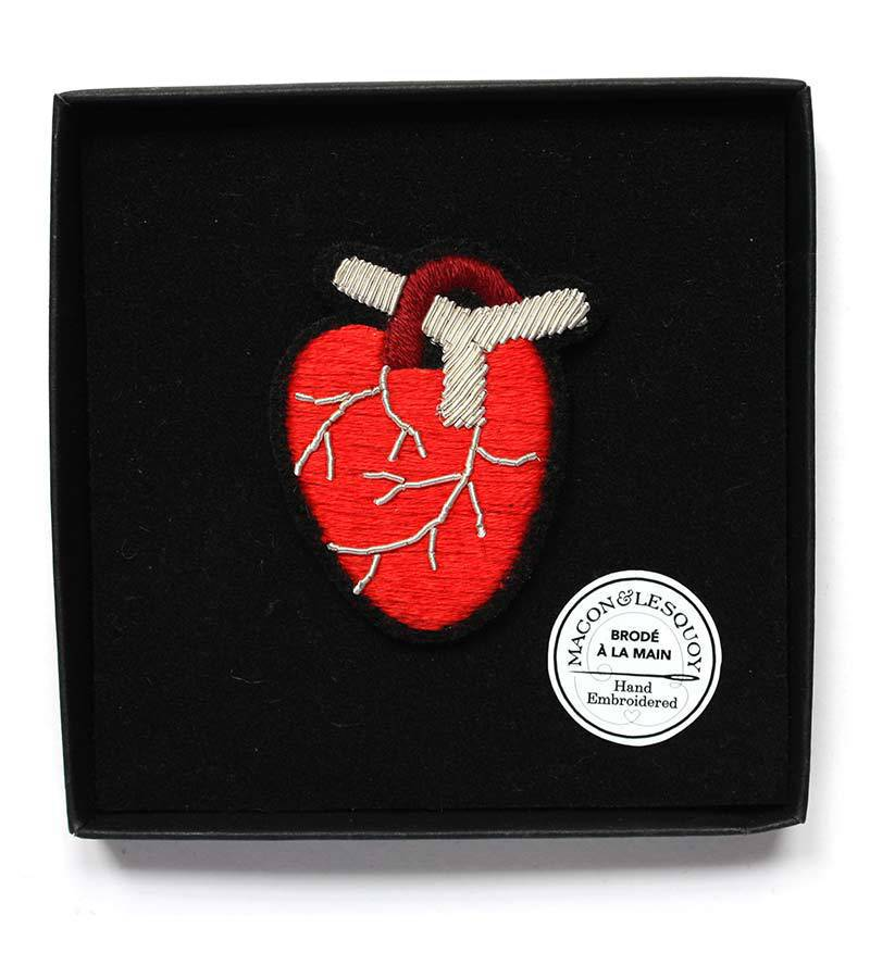 Брошь Anatomical Heart от Macon&Lesquoy