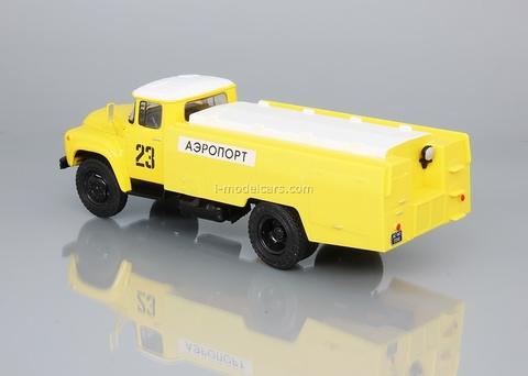 ZIL-130 AS-161 airport yellow 1:43 DeAgostini Auto Legends USSR Trucks #23
