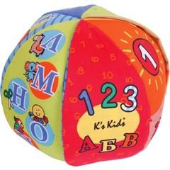 K's Kids Обучающий говорящий мяч 2-в-1: буквы и цифры (KA621)