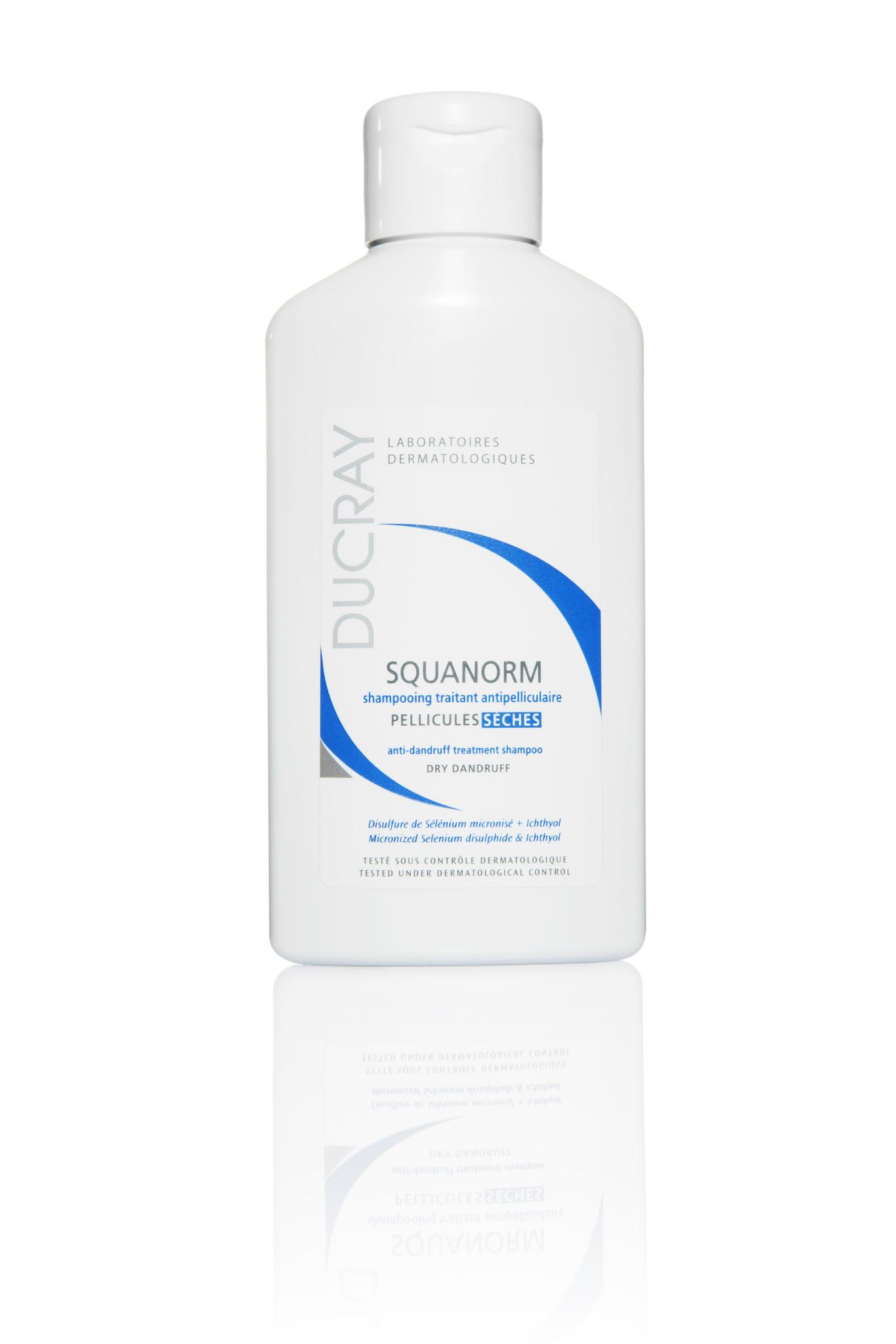 Ducray Squanorm шампунь от сухой перхоти 125 мл.
