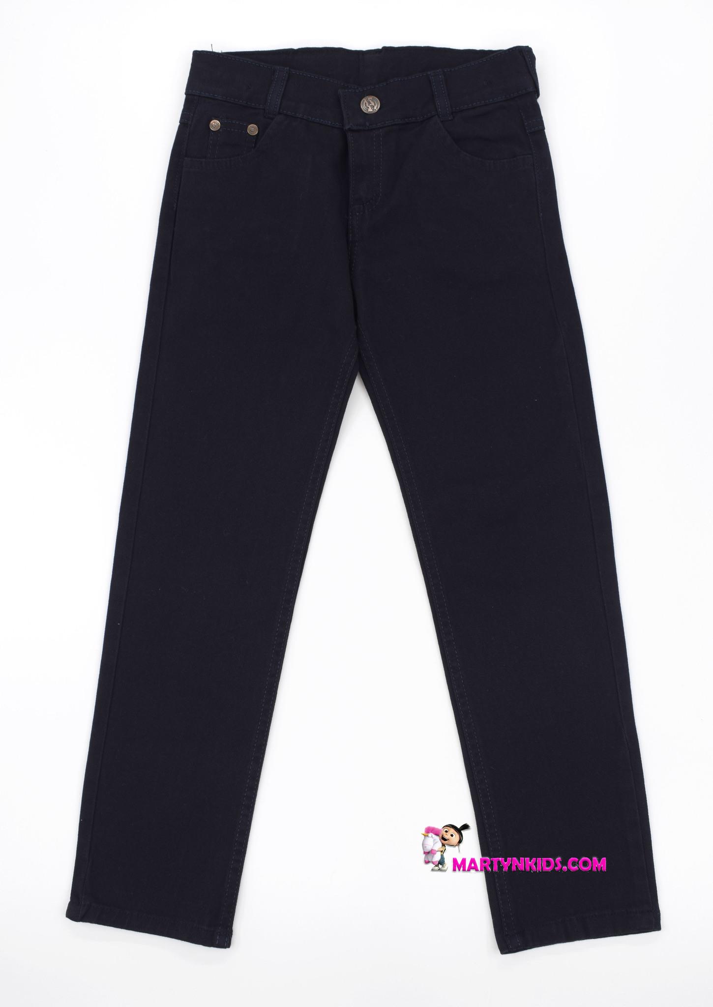 2335 джинсы-брюки школа