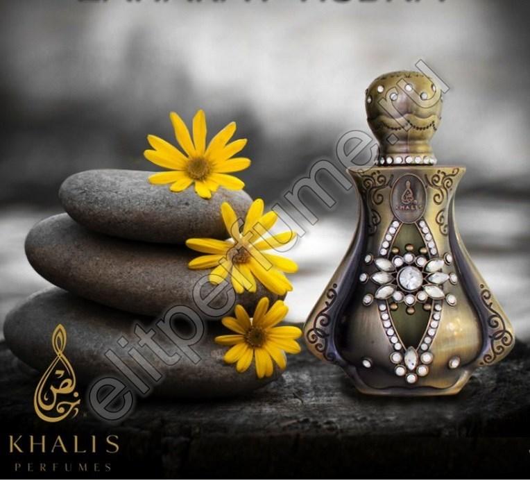 Zaharat Hubna Захарат Хубна 20 мл арабские масляные духи от Халис Khalis Perfumes new edition