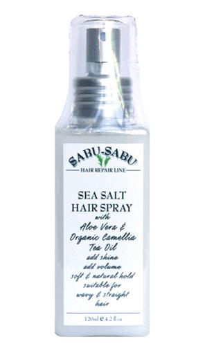 Спрей для волос с морской солью для блеска и объема, Sabu-Sabu