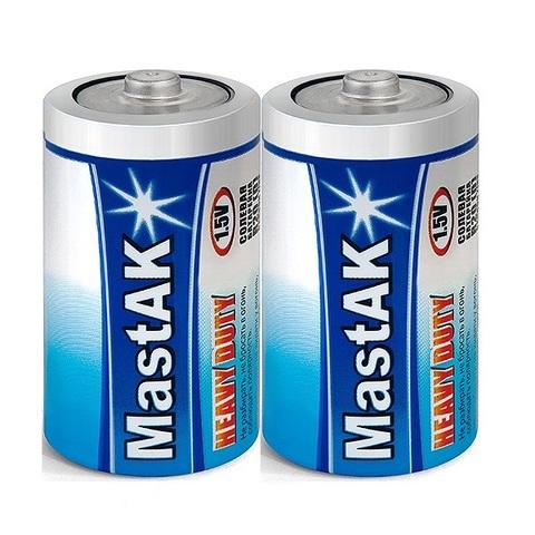 Батарейки MastAK R20, D (2/12/288)