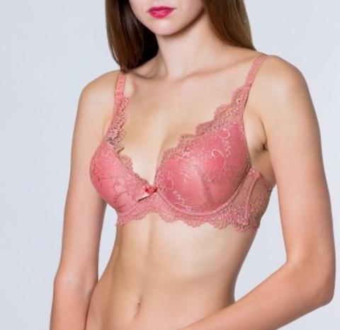 V1020-3 бюстгальтер женский, розовый